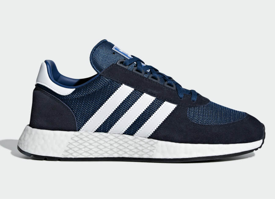 Adidas Marathon Tech Shoes - Legend Ink / Ftwr White / Legend Marine