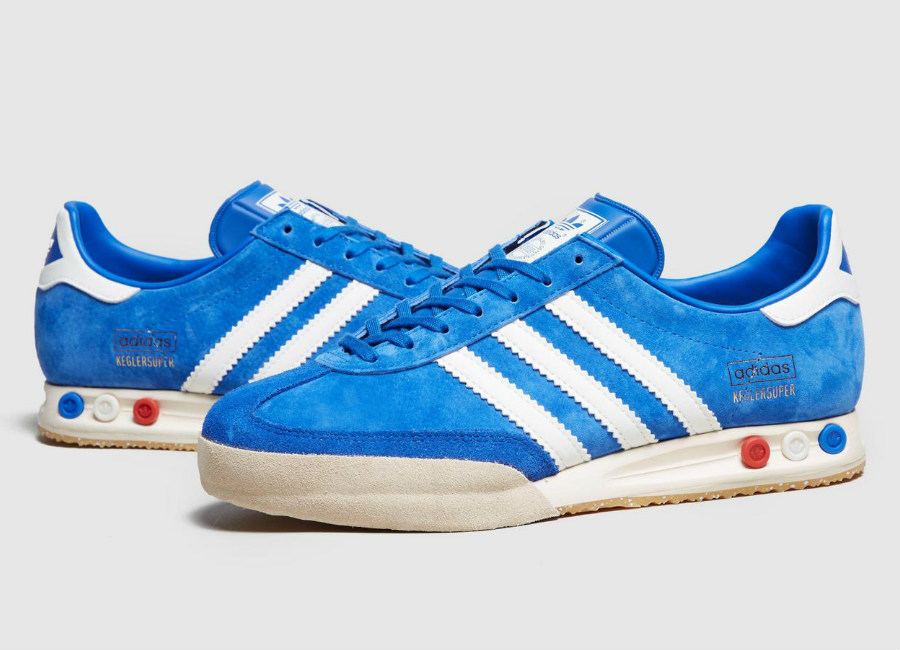 Adidas Kegler Super Beer - Bright Blue / White