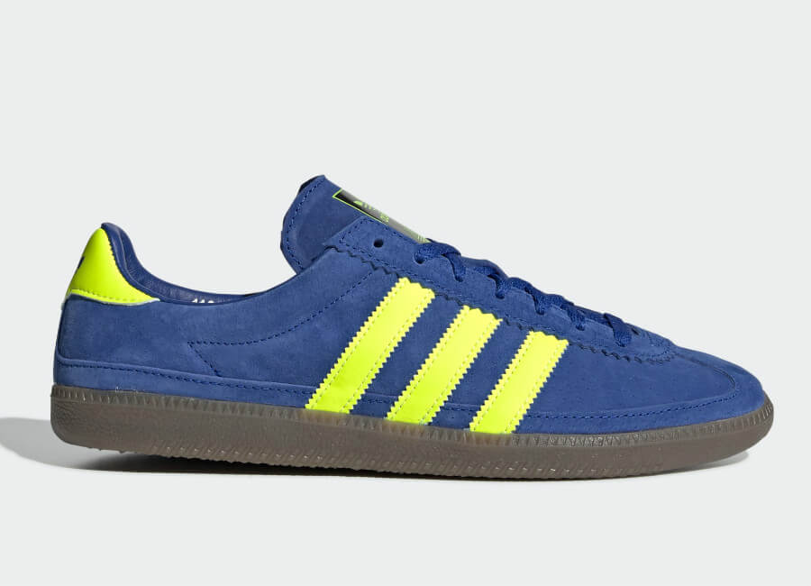 Adidas Whalley Spzl Shoes - Active Blue / Semi Solar Green / Easy Yellow