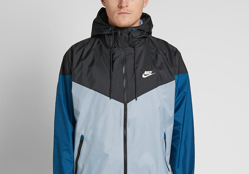 Nike Windrunner Jacket - Obsidian / Black / Blue / Sail
