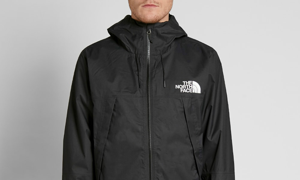 The North Face 1990 Mountain Q Jacket - Black / White