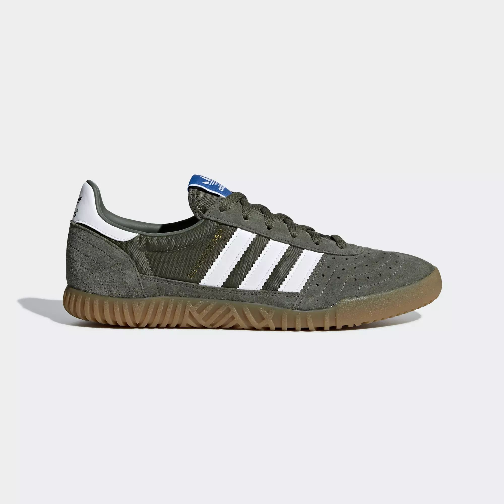 Adidas Indoor Super Shoes - Base Green / Ftwr White / Gum