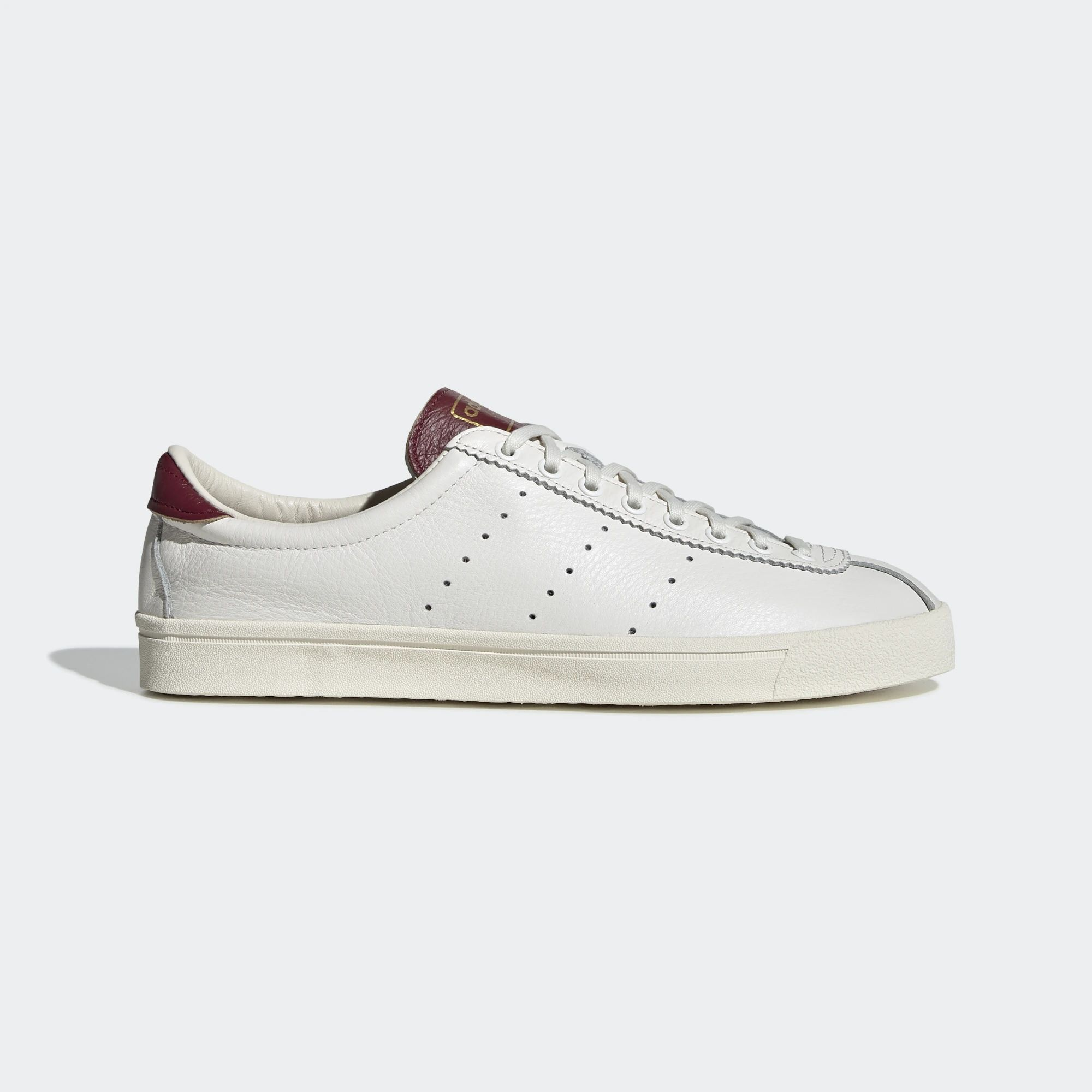 Adidas Lacombe Shoes - Cloud White / Collegiate Burgundy / Cream White