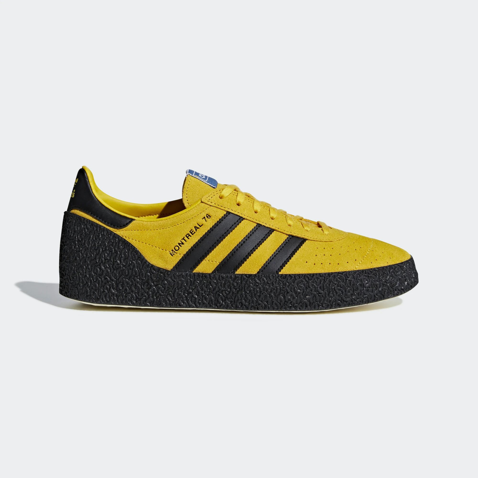 Adidas Montreal 76 Shoes - Bold Gold / Core Black / Cream White