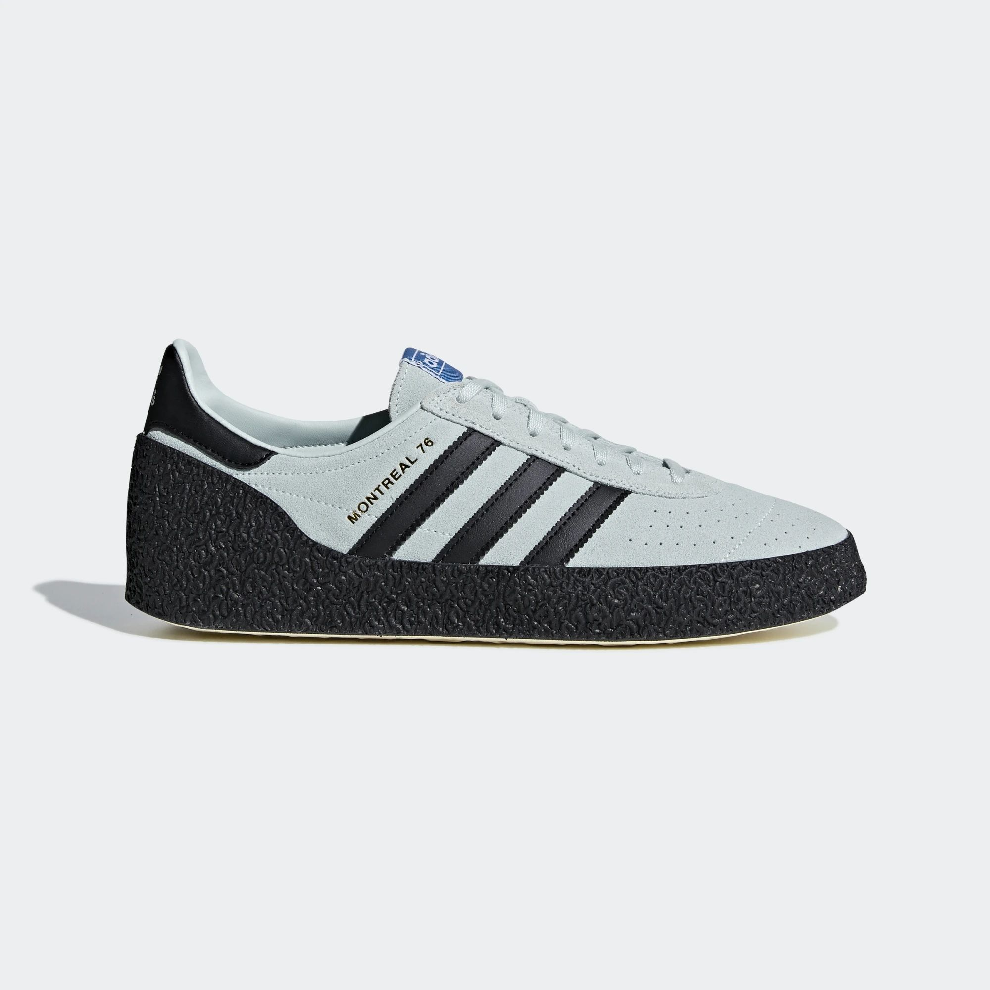 Adidas Montreal 76 Shoes - Vapour Green / Core Black / Cream White