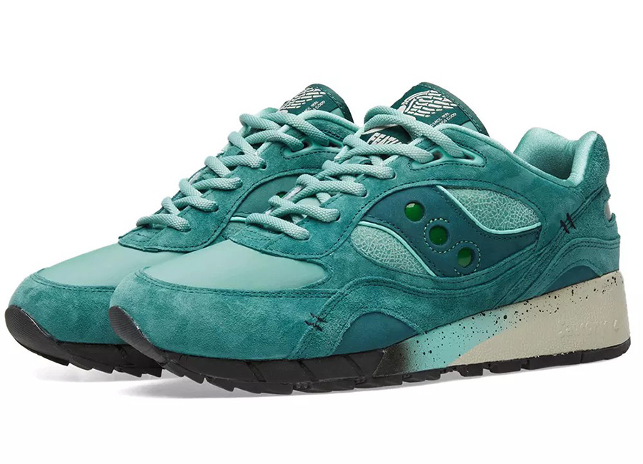 Saucony X Feature LV Shadow 6000 - Green